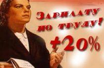 Лишь 4% россиян довольны своей зарплатой