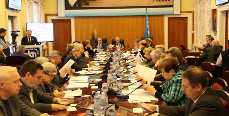 Заседание совета ВКП